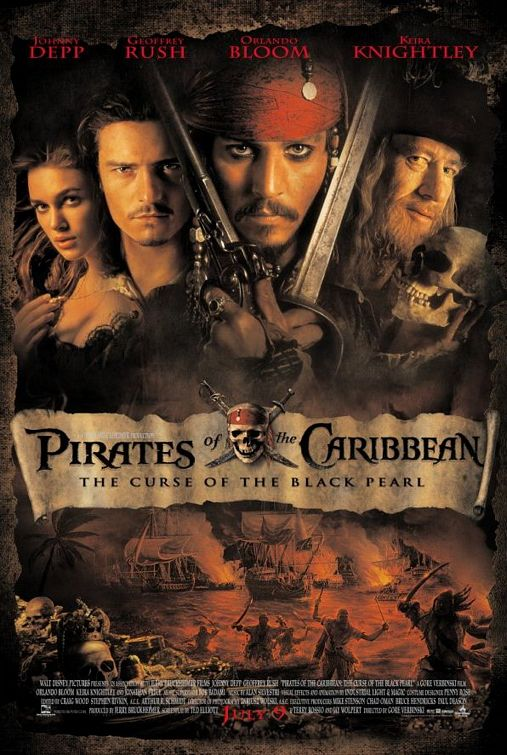 PIRATES OF THE CARIBBEAN: CURSE OF THE BLACK PEARL (2003)