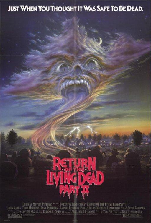 RETURN OF THE LIVING DEAD, PART 2 (1988)